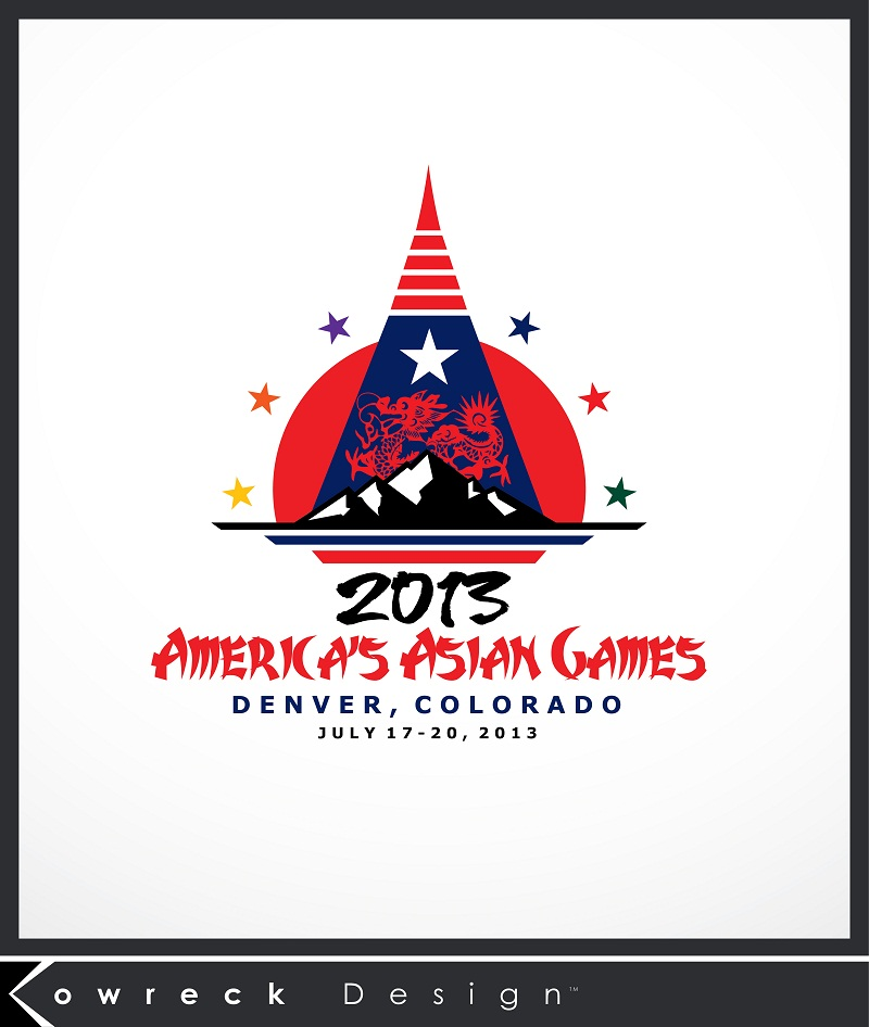Logo Design by kowreck - Entry No. 23 in the Logo Design Contest New Logo Design for America's Asian Games.