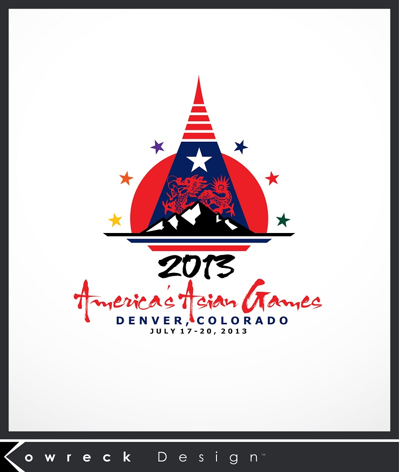 Logo Design by kowreck - Entry No. 24 in the Logo Design Contest New Logo Design for America's Asian Games.