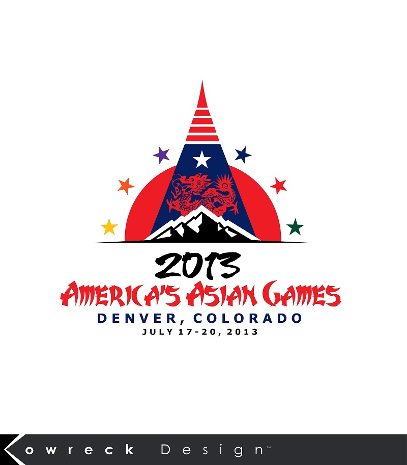 Logo Design by kowreck - Entry No. 25 in the Logo Design Contest New Logo Design for America's Asian Games.