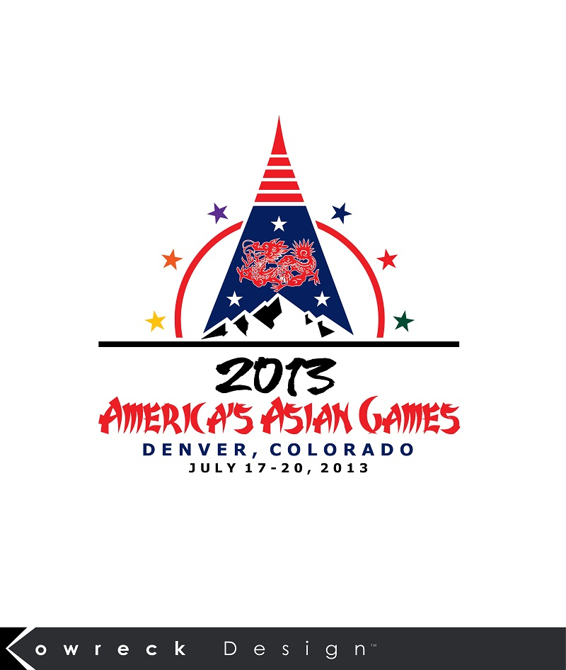 Logo Design by kowreck - Entry No. 26 in the Logo Design Contest New Logo Design for America's Asian Games.