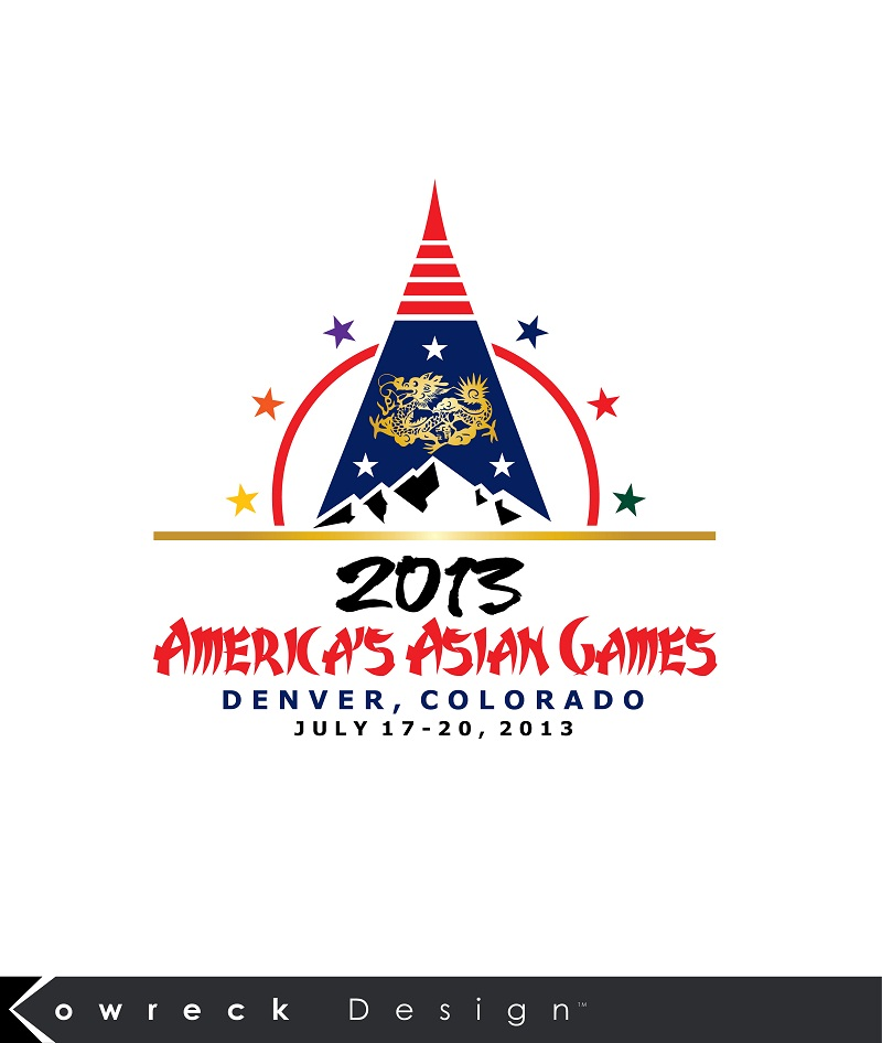 Logo Design by kowreck - Entry No. 28 in the Logo Design Contest New Logo Design for America's Asian Games.