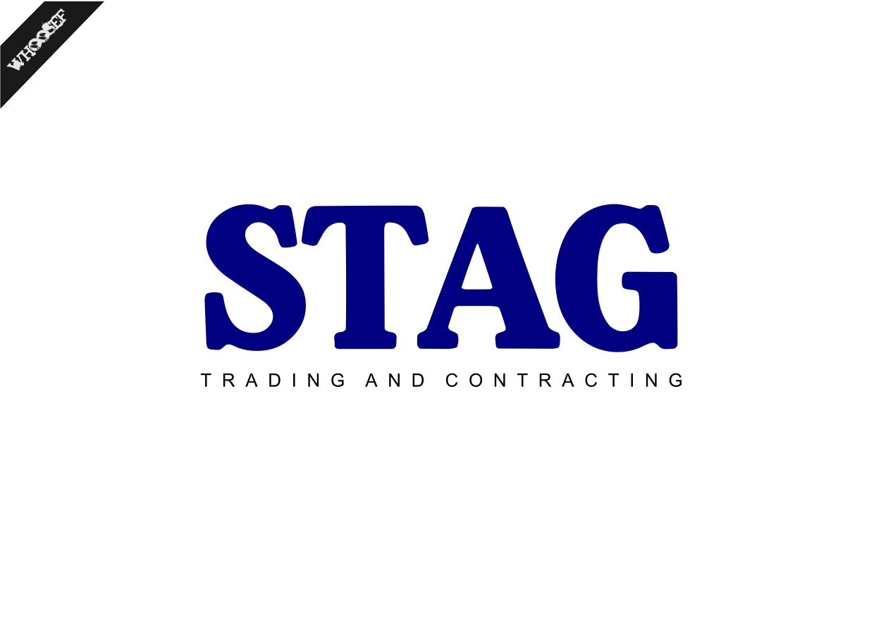 Logo Design by whoosef - Entry No. 159 in the Logo Design Contest Captivating Logo Design for STAG Trading & Contracting.