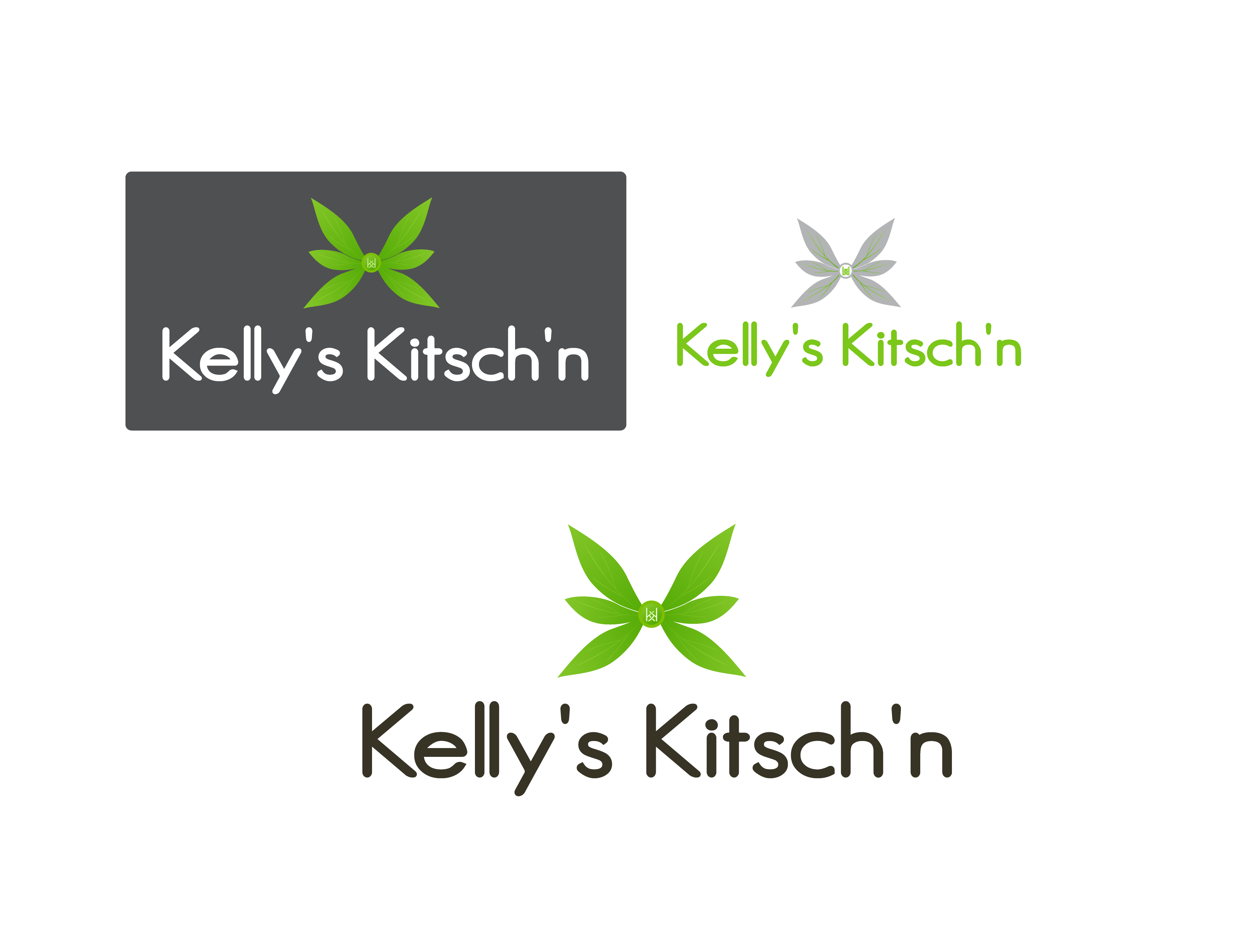 Logo Design by 354studio - Entry No. 16 in the Logo Design Contest Unique Logo Design Wanted for Kelly's Kitsch'n.