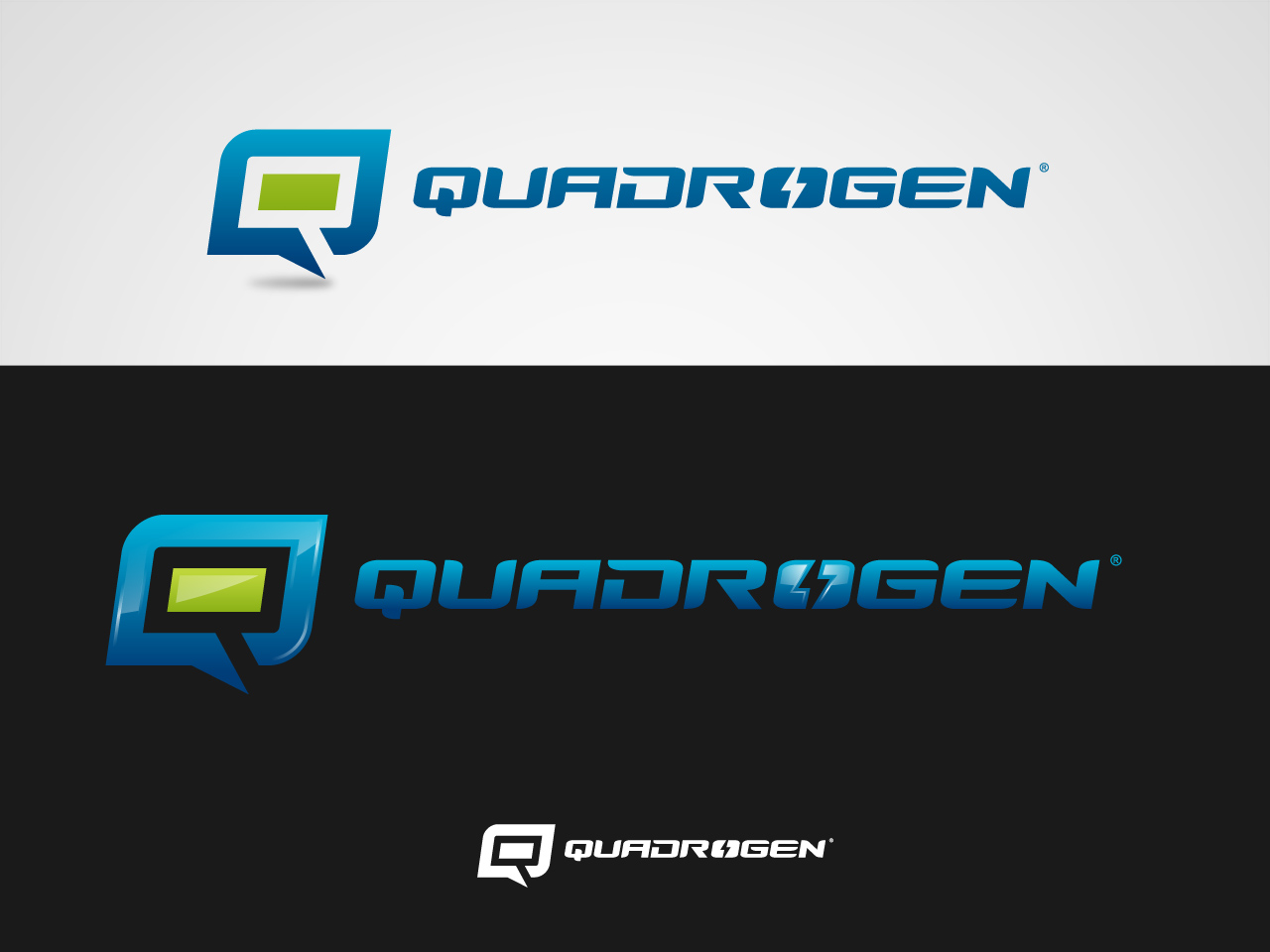 Logo Design by jpbituin - Entry No. 82 in the Logo Design Contest New Logo Design for Quadrogen Power Systems, Inc.