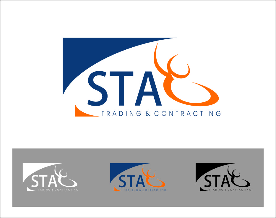 Logo Design by Ngepet_art - Entry No. 163 in the Logo Design Contest Captivating Logo Design for STAG Trading & Contracting.
