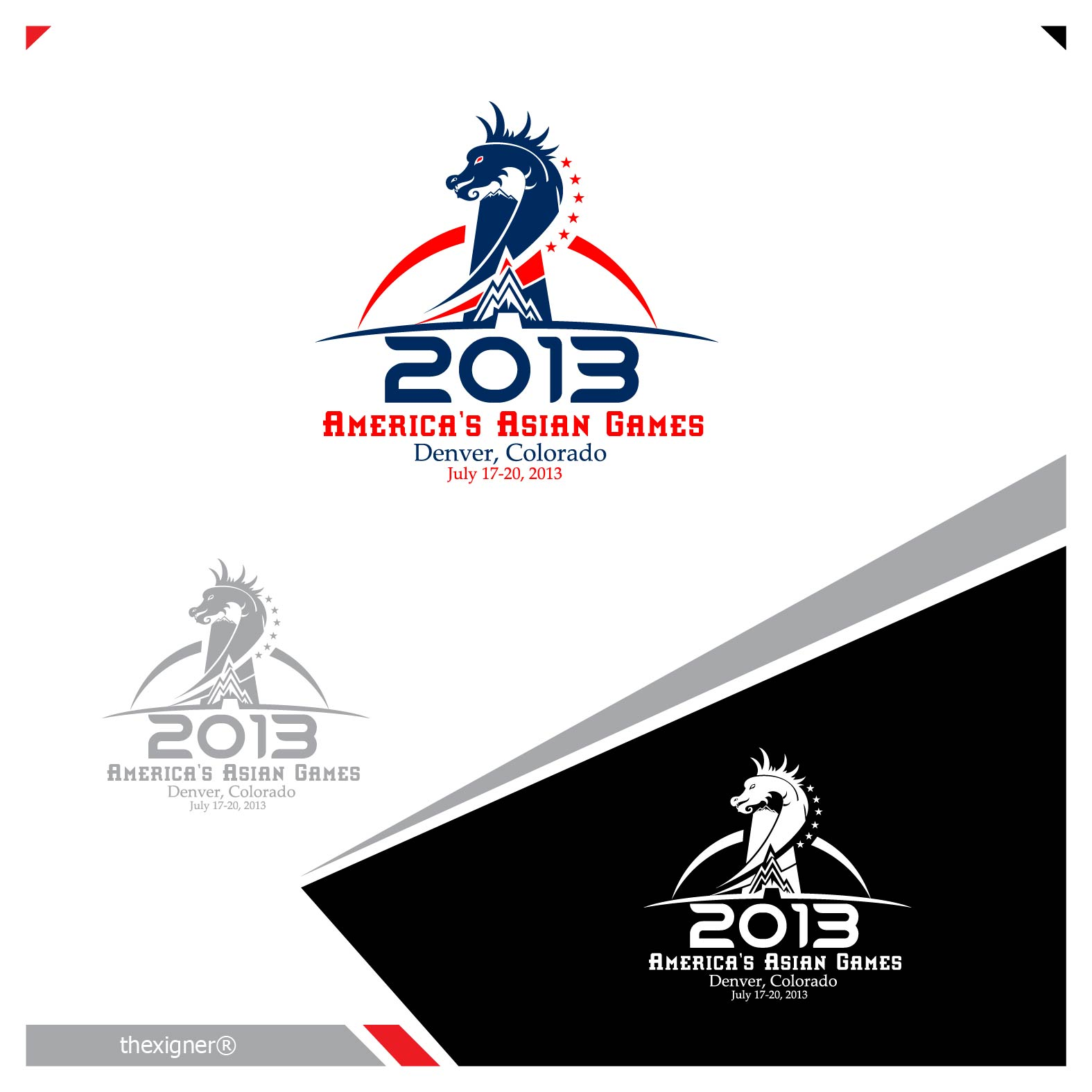Logo Design by lagalag - Entry No. 31 in the Logo Design Contest New Logo Design for America's Asian Games.