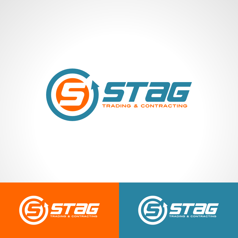 Logo Design by Private User - Entry No. 164 in the Logo Design Contest Captivating Logo Design for STAG Trading & Contracting.