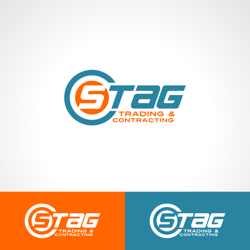 Logo Design by Private User - Entry No. 165 in the Logo Design Contest Captivating Logo Design for STAG Trading & Contracting.