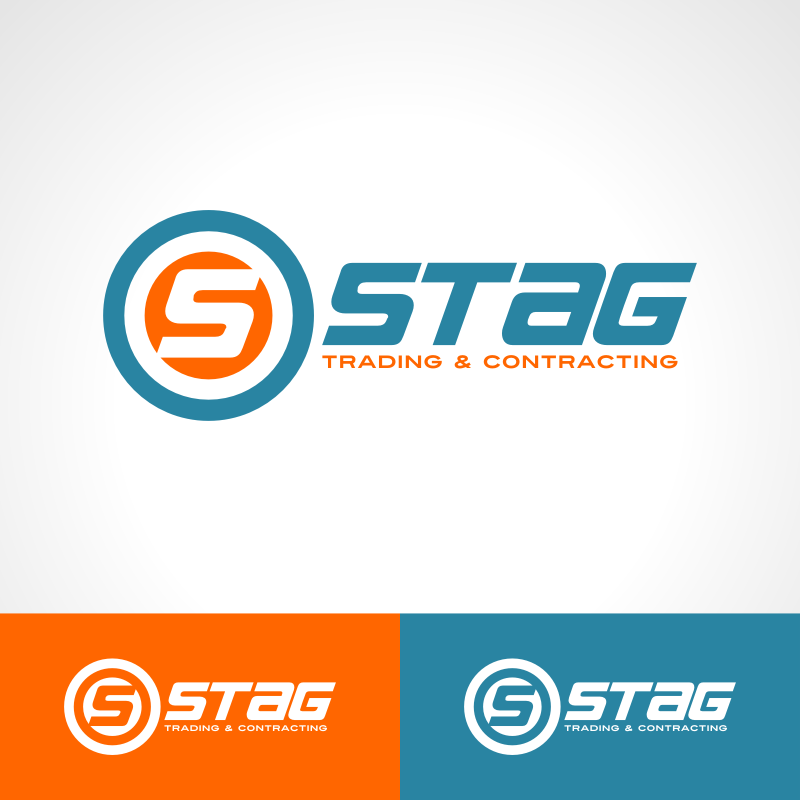 Logo Design by Private User - Entry No. 166 in the Logo Design Contest Captivating Logo Design for STAG Trading & Contracting.