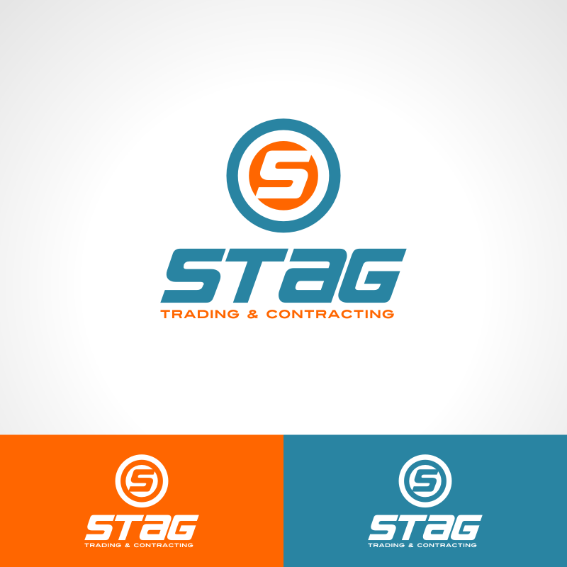 Logo Design by Private User - Entry No. 168 in the Logo Design Contest Captivating Logo Design for STAG Trading & Contracting.