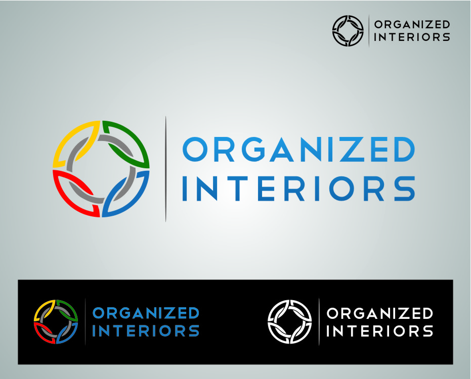 Logo Design by Ngepet_art - Entry No. 22 in the Logo Design Contest Imaginative Logo Design for Organized Interiors.