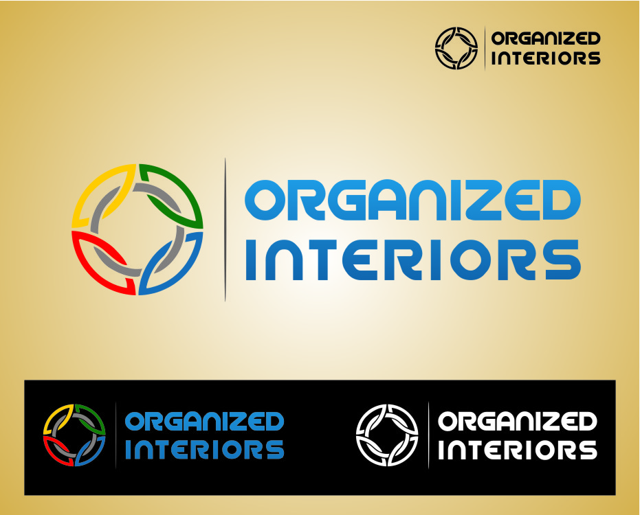 Logo Design by RoSyid Rono-Rene On Java - Entry No. 23 in the Logo Design Contest Imaginative Logo Design for Organized Interiors.