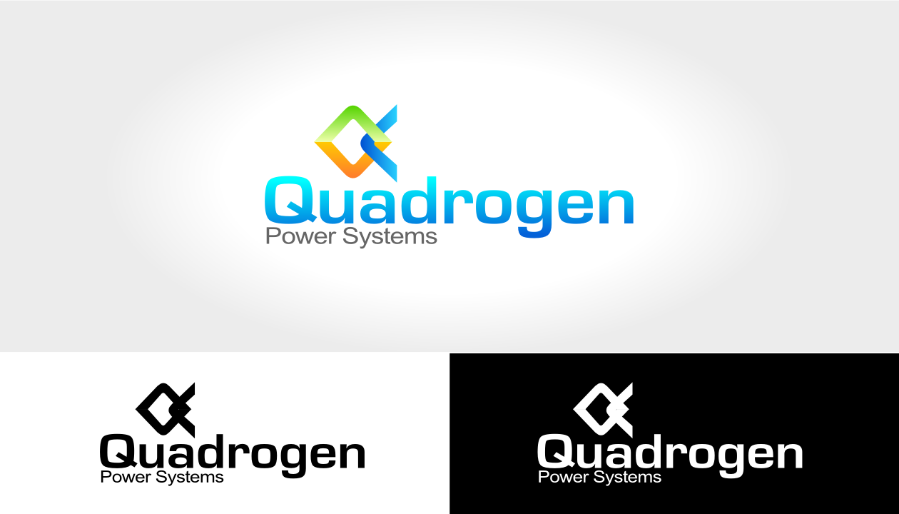 Logo Design by ChrisKay - Entry No. 100 in the Logo Design Contest New Logo Design for Quadrogen Power Systems, Inc.