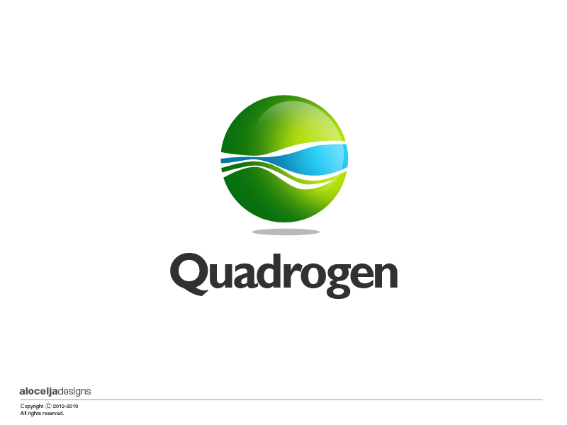 Logo Design by alocelja - Entry No. 101 in the Logo Design Contest New Logo Design for Quadrogen Power Systems, Inc.