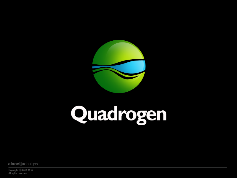 Logo Design by alocelja - Entry No. 102 in the Logo Design Contest New Logo Design for Quadrogen Power Systems, Inc.