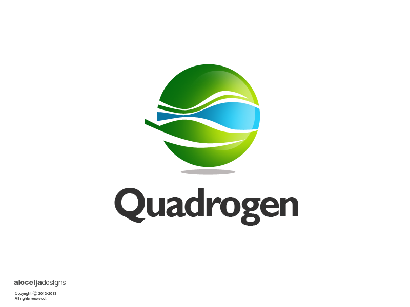 Logo Design by alocelja - Entry No. 103 in the Logo Design Contest New Logo Design for Quadrogen Power Systems, Inc.