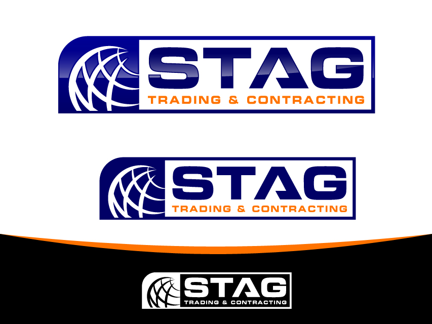 Logo Design by Richard Soriano - Entry No. 169 in the Logo Design Contest Captivating Logo Design for STAG Trading & Contracting.