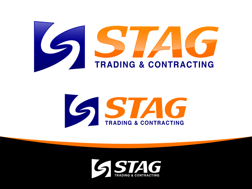 Logo Design by Richard Soriano - Entry No. 170 in the Logo Design Contest Captivating Logo Design for STAG Trading & Contracting.