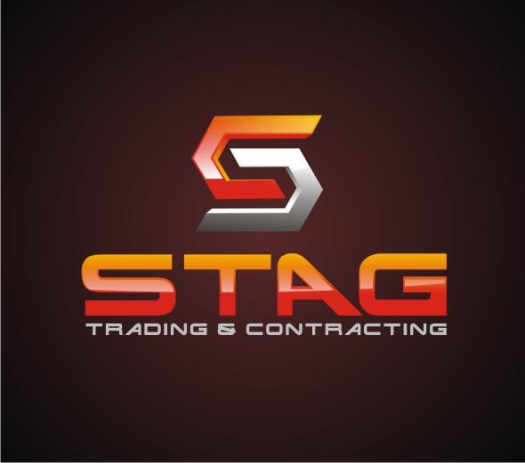 Logo Design by Reivan Ferdinan - Entry No. 173 in the Logo Design Contest Captivating Logo Design for STAG Trading & Contracting.
