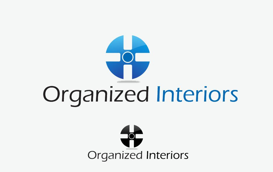 Logo Design by Tenstar Design - Entry No. 26 in the Logo Design Contest Imaginative Logo Design for Organized Interiors.