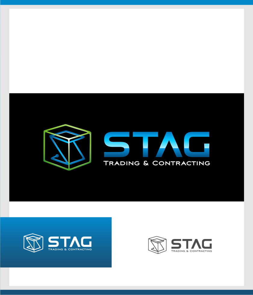 Logo Design by graphicleaf - Entry No. 174 in the Logo Design Contest Captivating Logo Design for STAG Trading & Contracting.