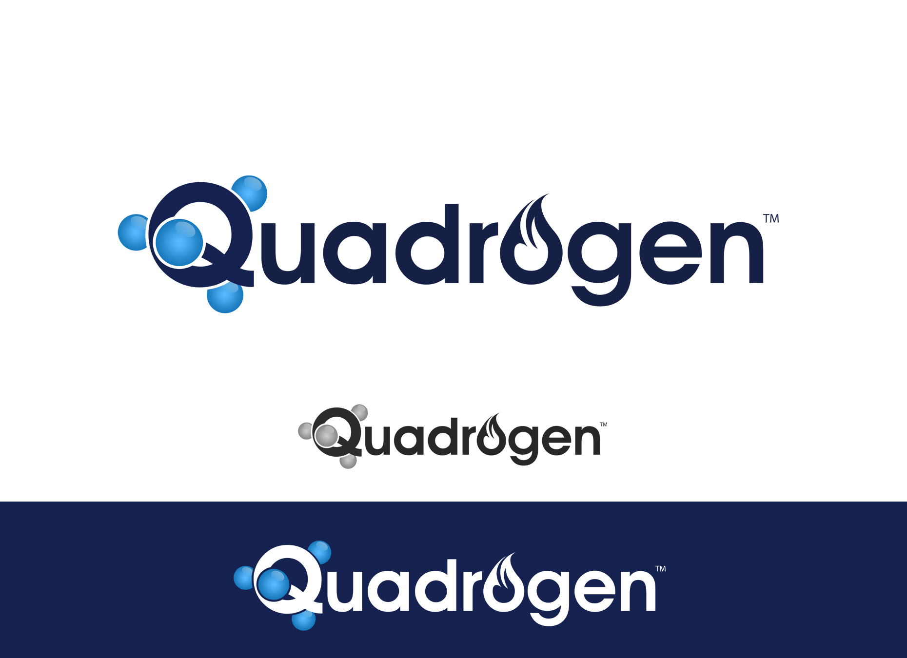 Logo Design by omARTist - Entry No. 104 in the Logo Design Contest New Logo Design for Quadrogen Power Systems, Inc.