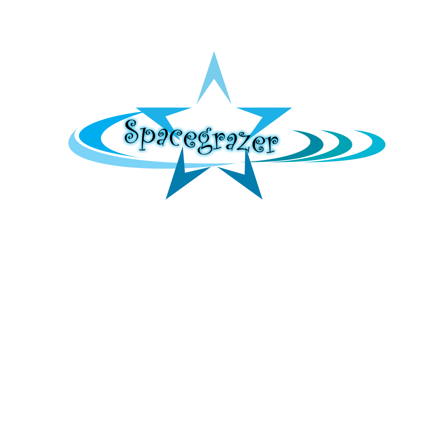 Logo Design by Melanie Fitzpatrick - Entry No. 9 in the Logo Design Contest Fun Logo Design for Spacegrazer.