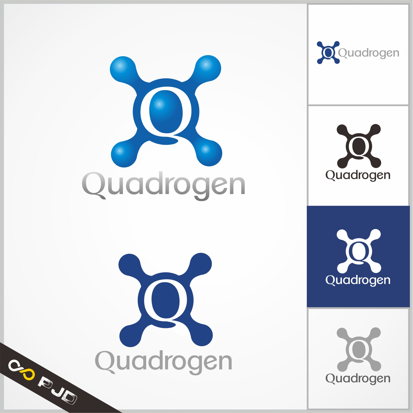 Logo Design by PJD - Entry No. 105 in the Logo Design Contest New Logo Design for Quadrogen Power Systems, Inc.