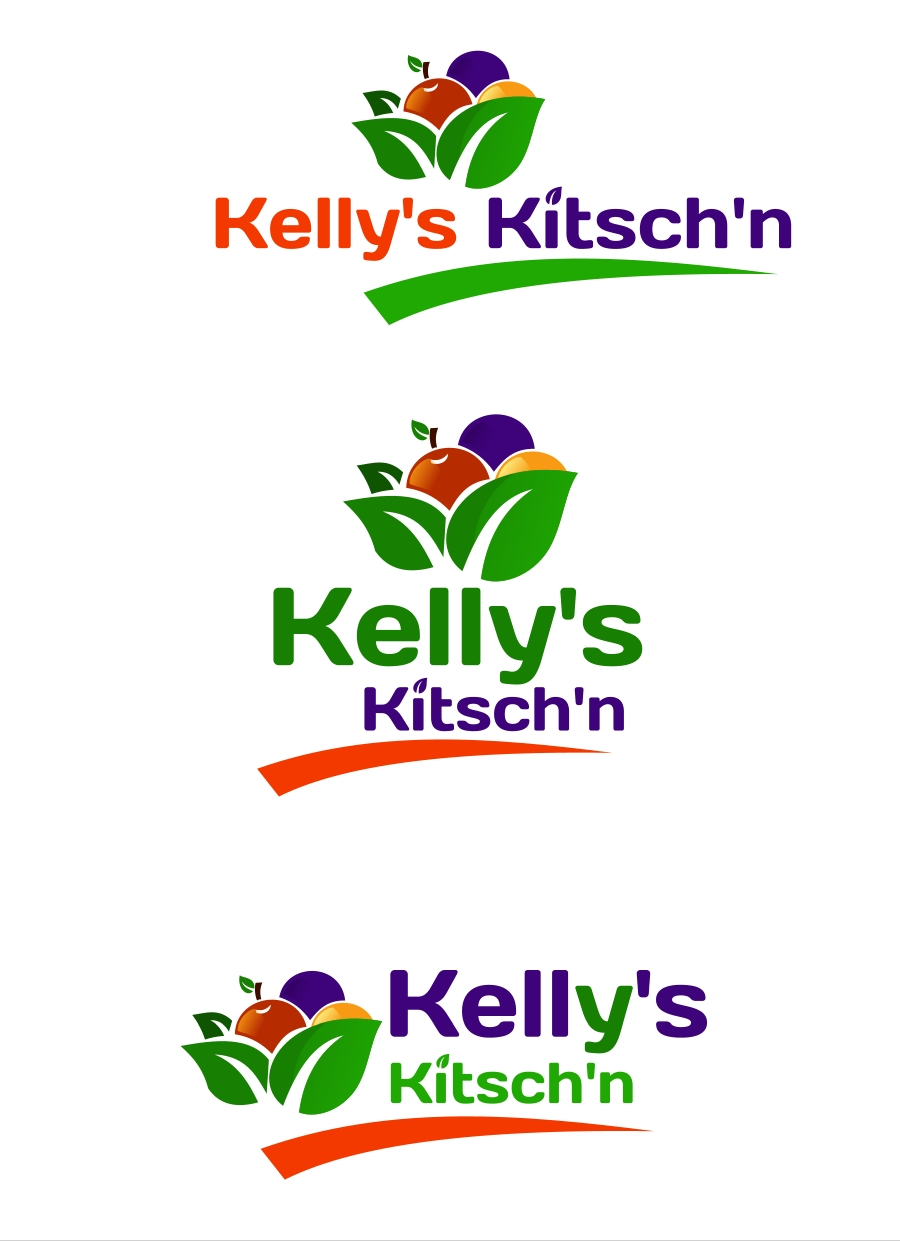 Logo Design by Private User - Entry No. 27 in the Logo Design Contest Unique Logo Design Wanted for Kelly's Kitsch'n.