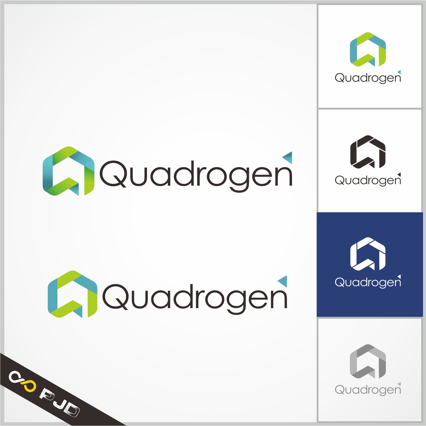 Logo Design by PJD - Entry No. 107 in the Logo Design Contest New Logo Design for Quadrogen Power Systems, Inc.