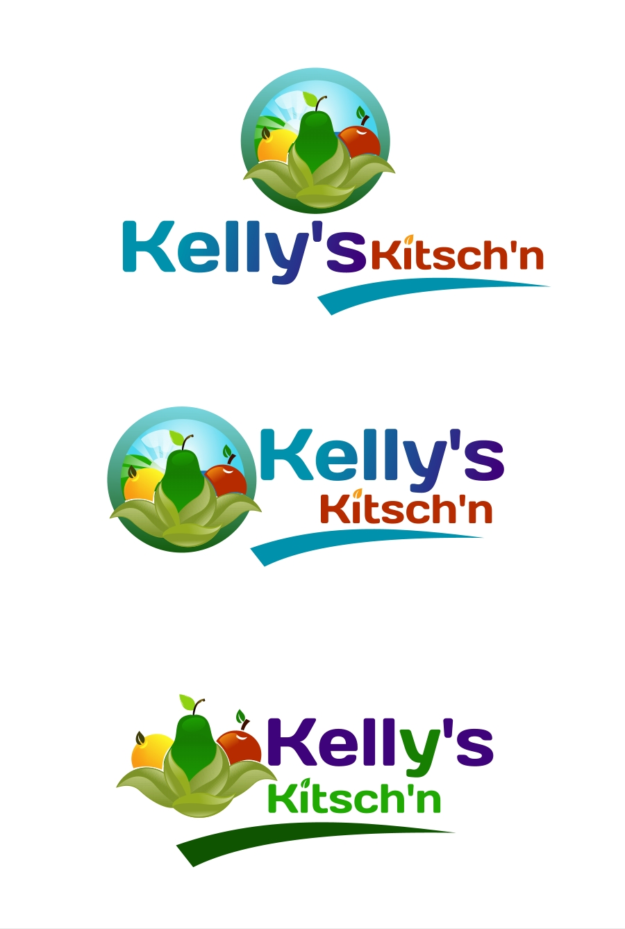 Logo Design by Private User - Entry No. 28 in the Logo Design Contest Unique Logo Design Wanted for Kelly's Kitsch'n.
