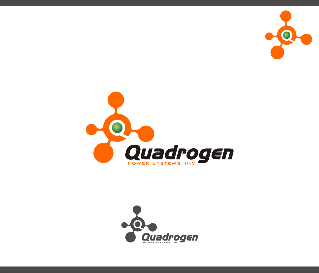 Logo Design by graphicleaf - Entry No. 108 in the Logo Design Contest New Logo Design for Quadrogen Power Systems, Inc.