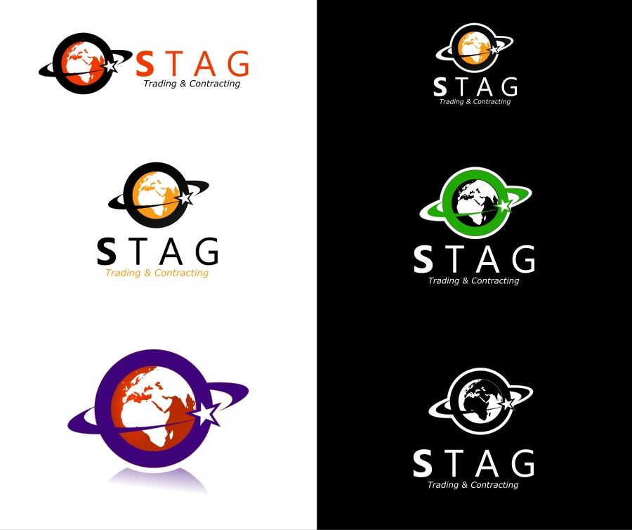 Logo Design by Private User - Entry No. 175 in the Logo Design Contest Captivating Logo Design for STAG Trading & Contracting.