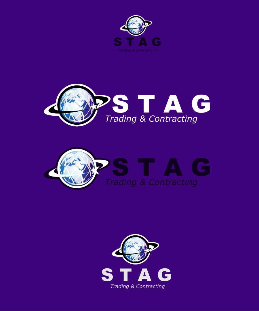 Logo Design by Private User - Entry No. 176 in the Logo Design Contest Captivating Logo Design for STAG Trading & Contracting.