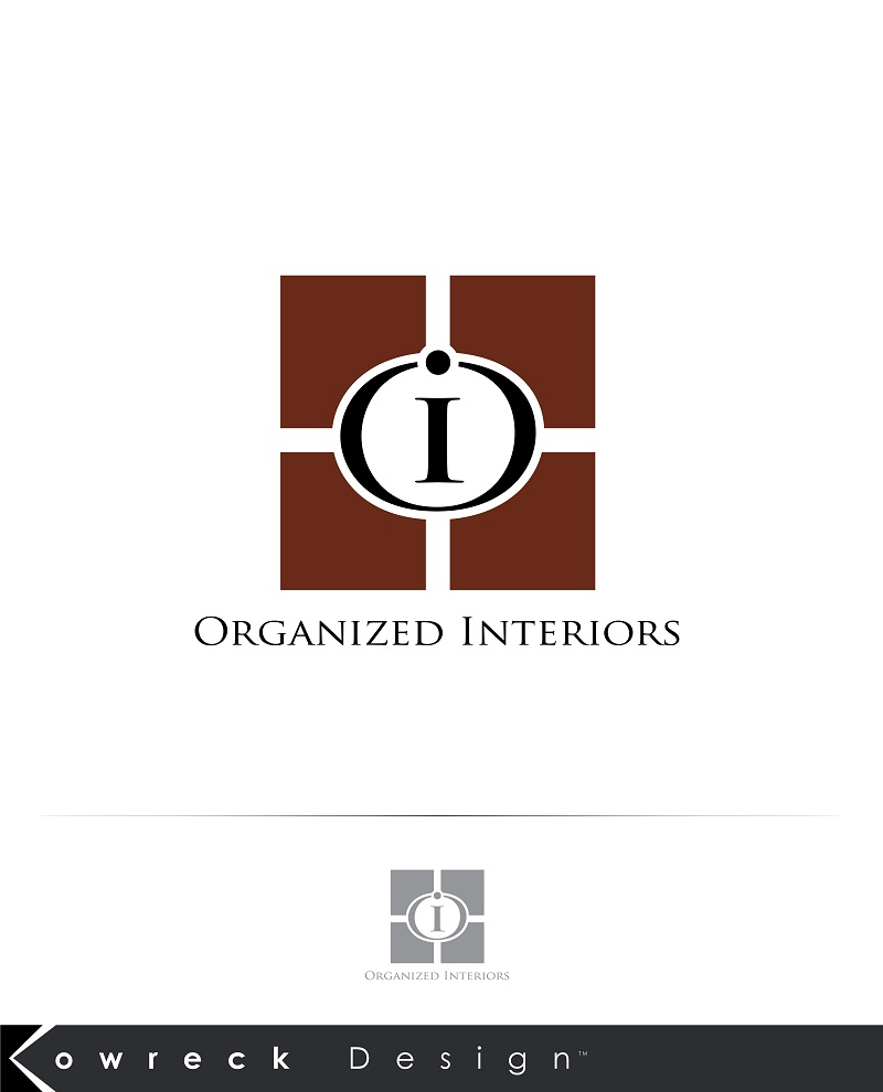 Logo Design by kowreck - Entry No. 34 in the Logo Design Contest Imaginative Logo Design for Organized Interiors.