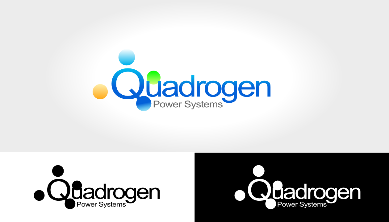 Logo Design by ChrisKay - Entry No. 109 in the Logo Design Contest New Logo Design for Quadrogen Power Systems, Inc.