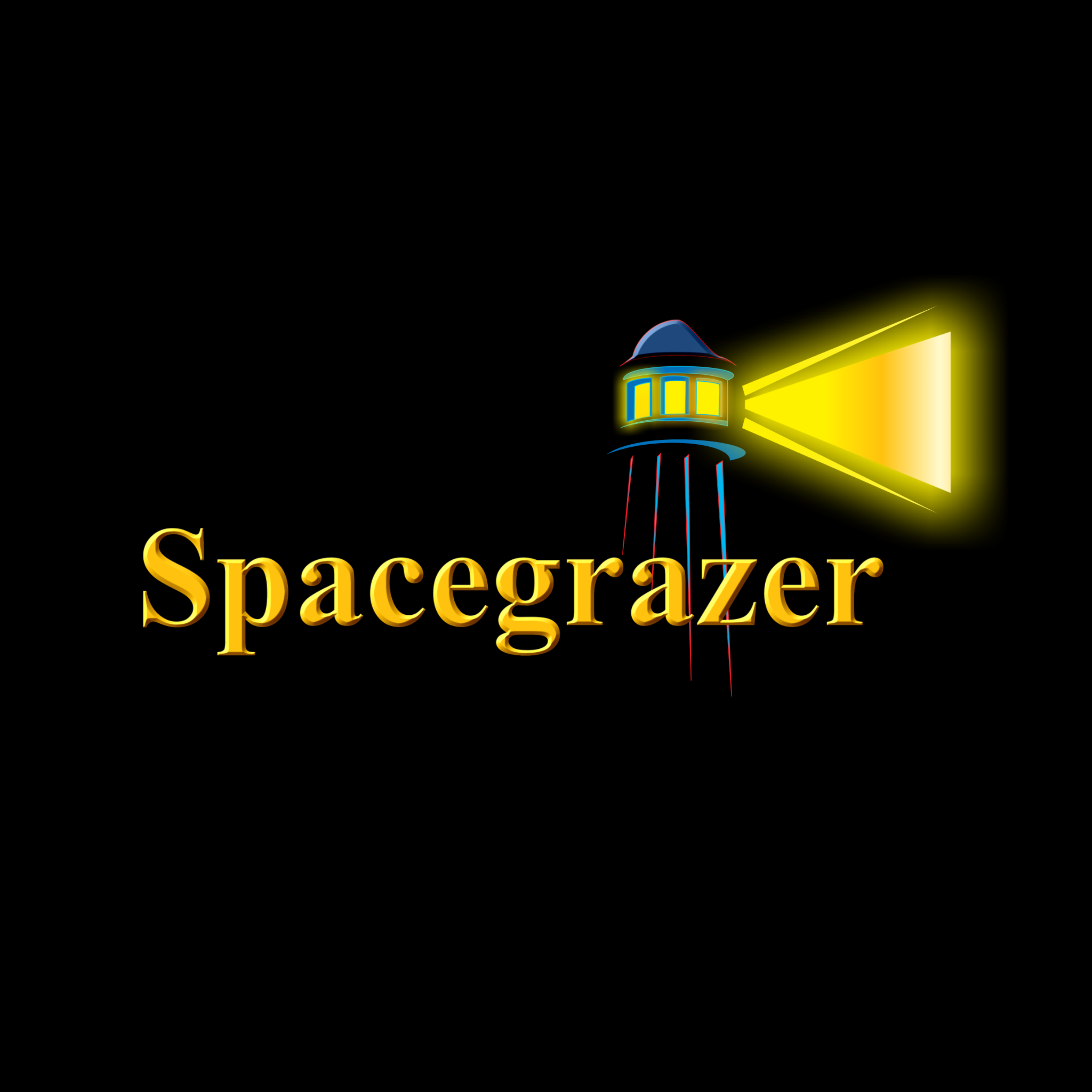 Logo Design by Steven Fitzpatrick - Entry No. 11 in the Logo Design Contest Fun Logo Design for Spacegrazer.