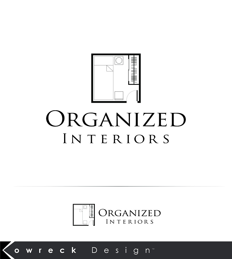 Logo Design by kowreck - Entry No. 36 in the Logo Design Contest Imaginative Logo Design for Organized Interiors.