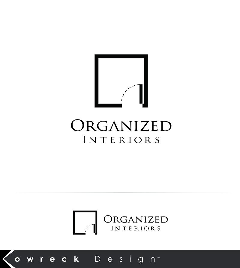 Logo Design by kowreck - Entry No. 37 in the Logo Design Contest Imaginative Logo Design for Organized Interiors.