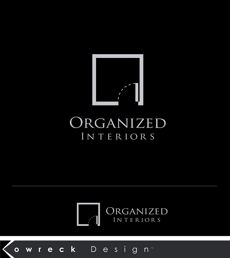 Logo Design by kowreck - Entry No. 38 in the Logo Design Contest Imaginative Logo Design for Organized Interiors.