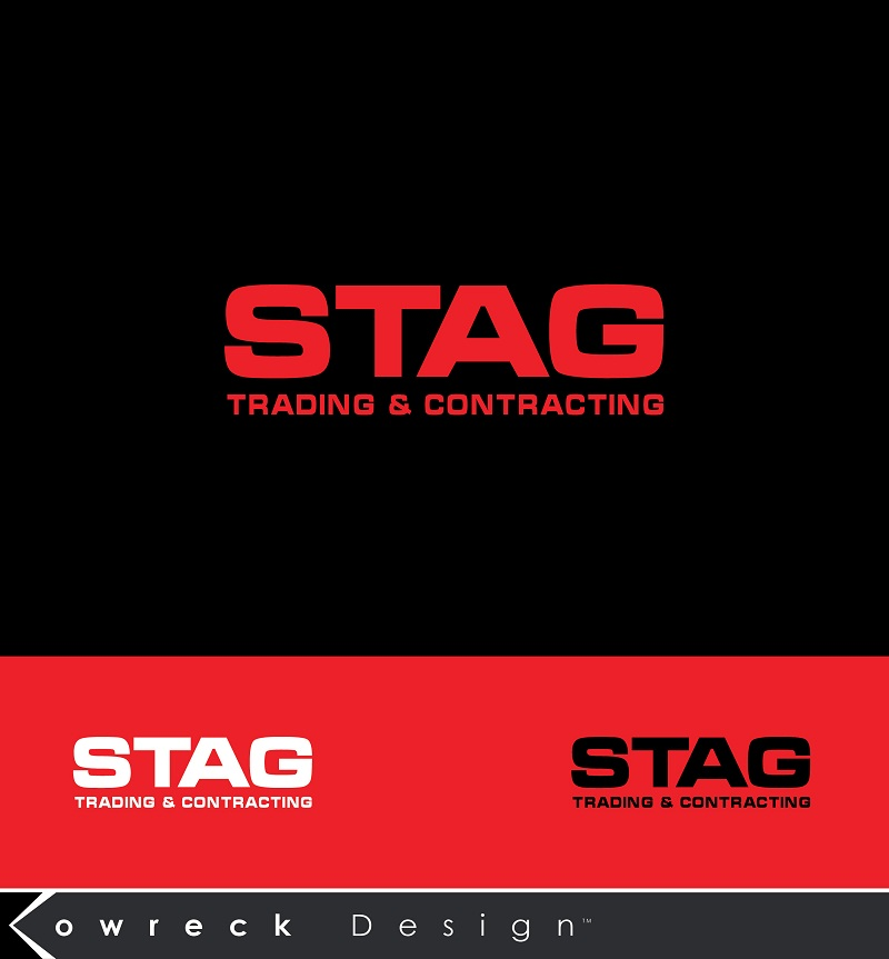 Logo Design by kowreck - Entry No. 185 in the Logo Design Contest Captivating Logo Design for STAG Trading & Contracting.