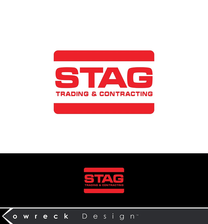 Logo Design by kowreck - Entry No. 186 in the Logo Design Contest Captivating Logo Design for STAG Trading & Contracting.