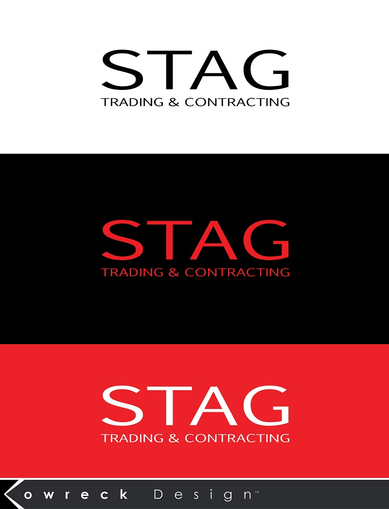 Logo Design by kowreck - Entry No. 187 in the Logo Design Contest Captivating Logo Design for STAG Trading & Contracting.
