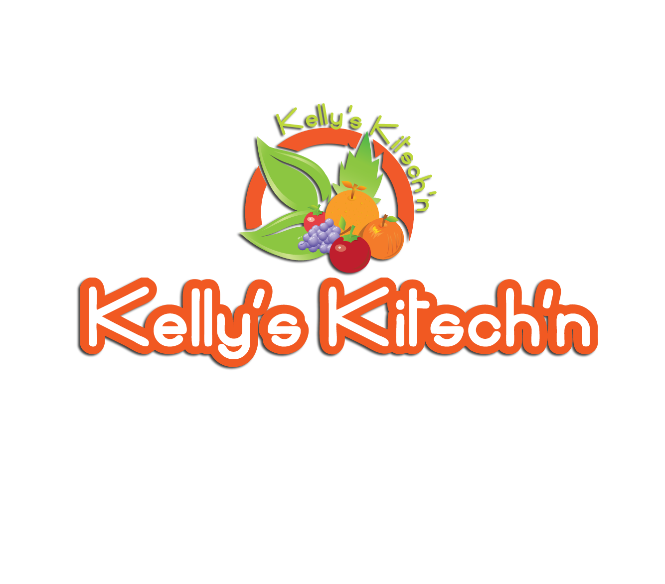 Logo Design by 354studio - Entry No. 30 in the Logo Design Contest Unique Logo Design Wanted for Kelly's Kitsch'n.