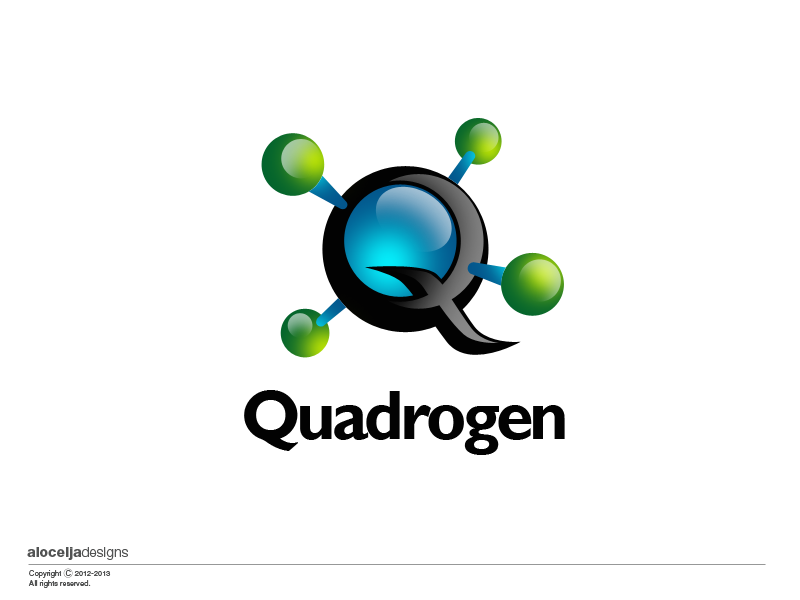 Logo Design by alocelja - Entry No. 113 in the Logo Design Contest New Logo Design for Quadrogen Power Systems, Inc.