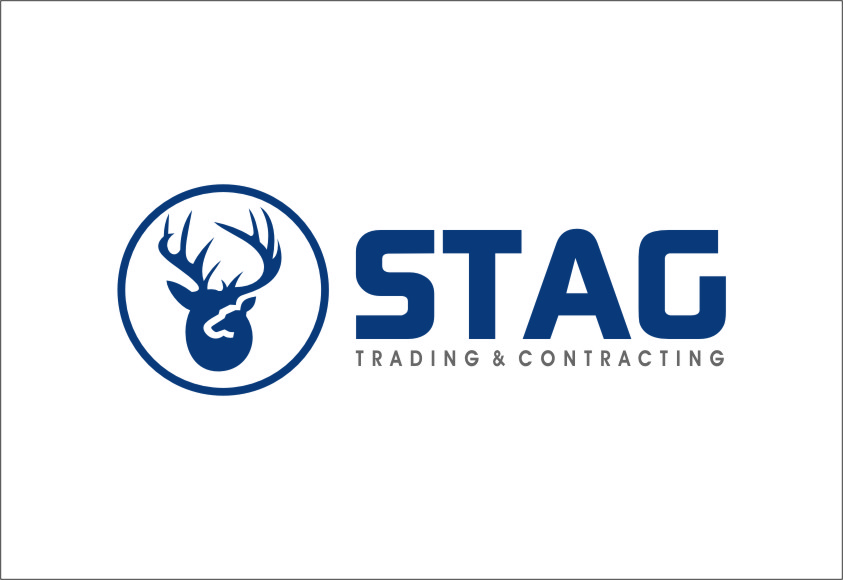 Logo Design by RoSyid Rono-Rene On Java - Entry No. 192 in the Logo Design Contest Captivating Logo Design for STAG Trading & Contracting.