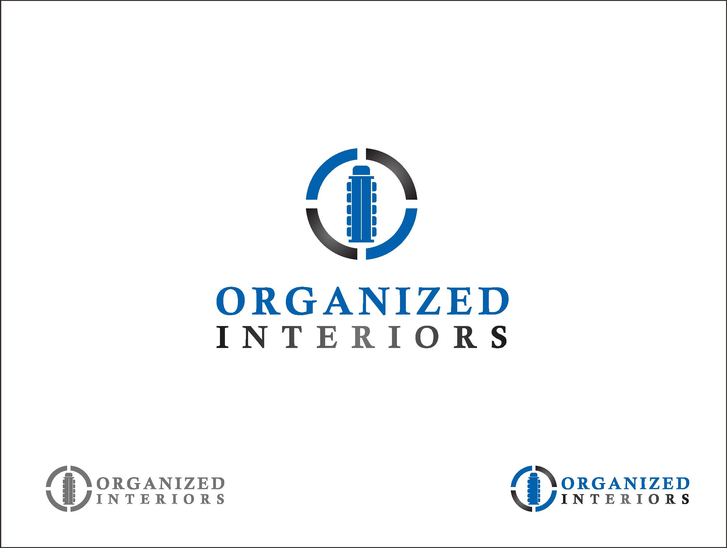Logo Design by Armada Jamaluddin - Entry No. 46 in the Logo Design Contest Imaginative Logo Design for Organized Interiors.