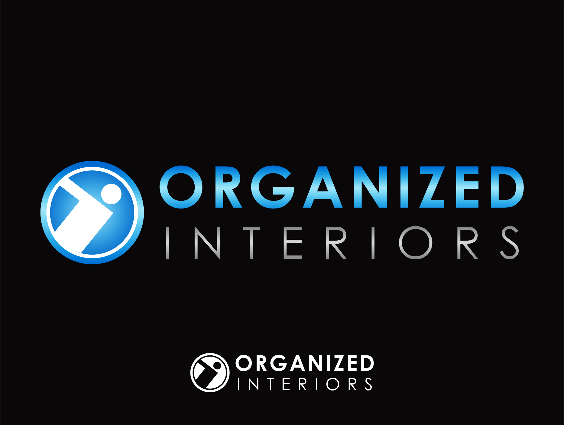 Logo Design by Armada Jamaluddin - Entry No. 48 in the Logo Design Contest Imaginative Logo Design for Organized Interiors.