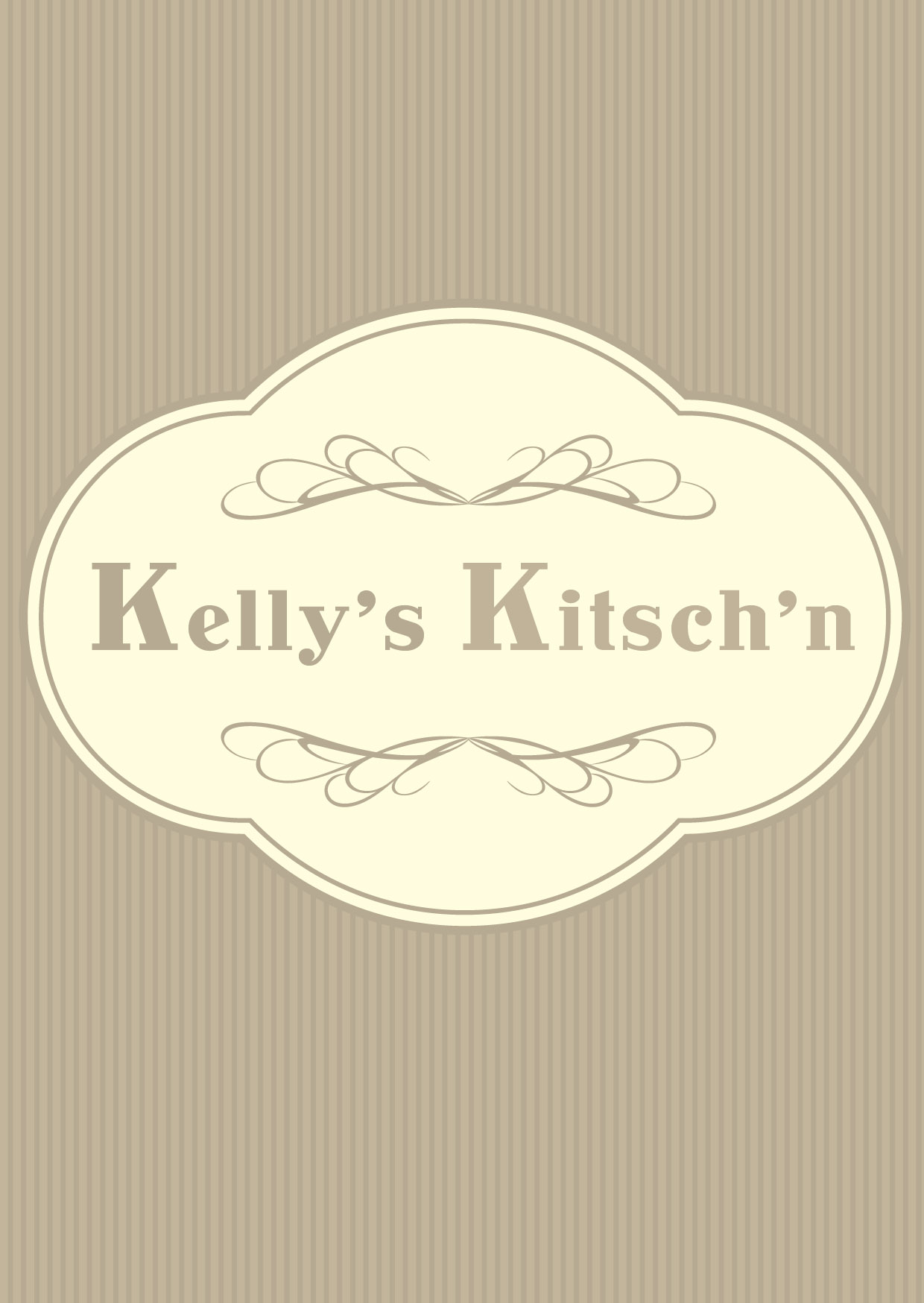 Logo Design by Private User - Entry No. 32 in the Logo Design Contest Unique Logo Design Wanted for Kelly's Kitsch'n.