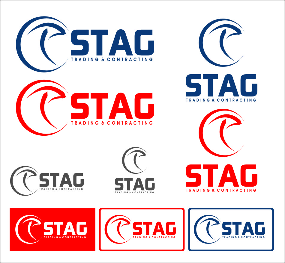 Logo Design by Ngepet_art - Entry No. 202 in the Logo Design Contest Captivating Logo Design for STAG Trading & Contracting.